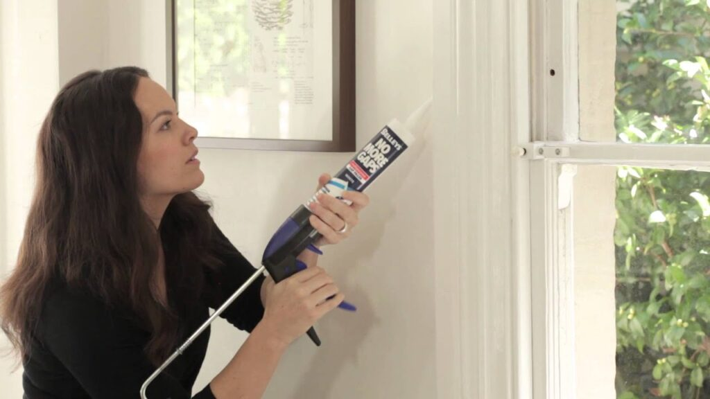 Acoustic Sealant for soundproof window